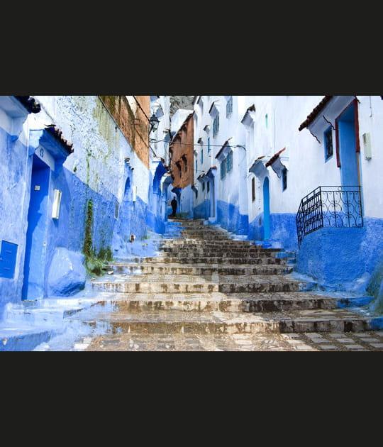 La cité bleue de Chefchaouen au Maroc
