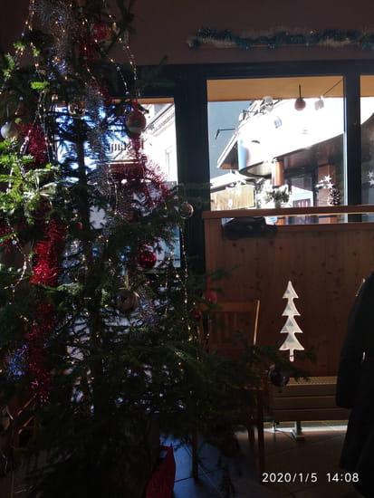 Restaurant : Restaurant de la Fromagerie  - La salle a Noël -