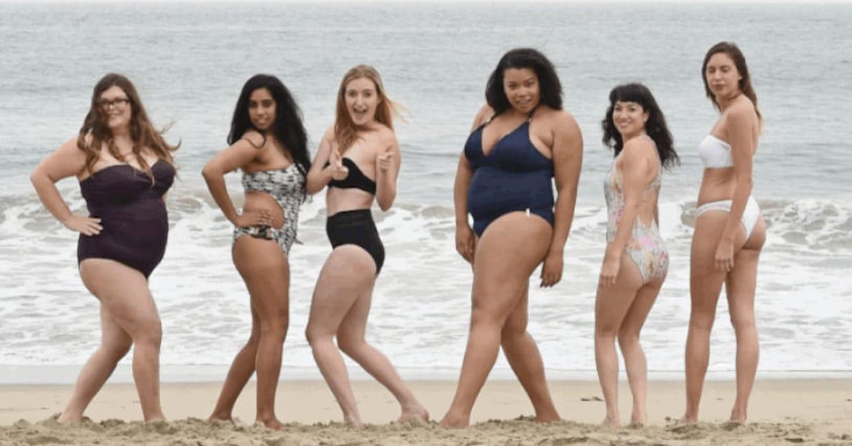 victoria 39 s secret des femmes normales portent les maillots de bain de la marque. Black Bedroom Furniture Sets. Home Design Ideas