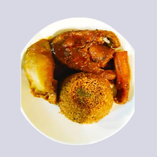 Le Khelkom Restaurant  - Thiéboudienne au Khelkom Restaurant africain à paris -   © htt://www.lekhelkom.com
