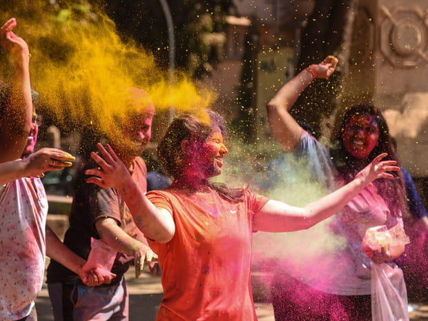 Les plus belles photos de Holi 2019, le festival aux 1000couleurs