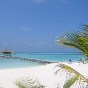 les plages de sable blanc desmaldives pourraient rapidement disparaître sous