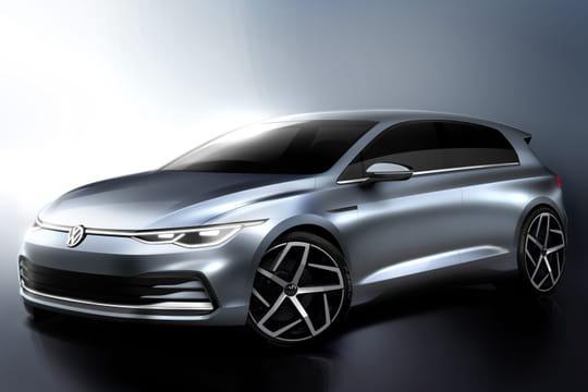 Nouvelle Volkswagen Golf: des croquis inédits, quelle date de sortie?