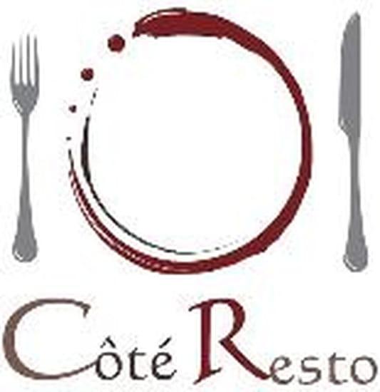 Côté Resto  - LOGO -   © G.PETIT