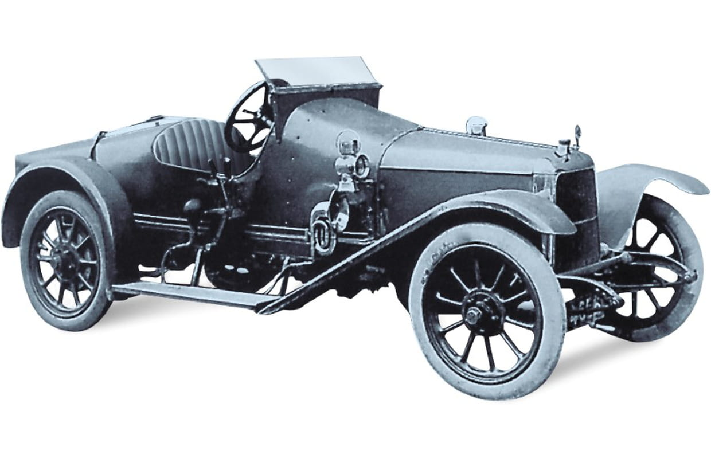 1914 Aston Martin Coal Scuttle