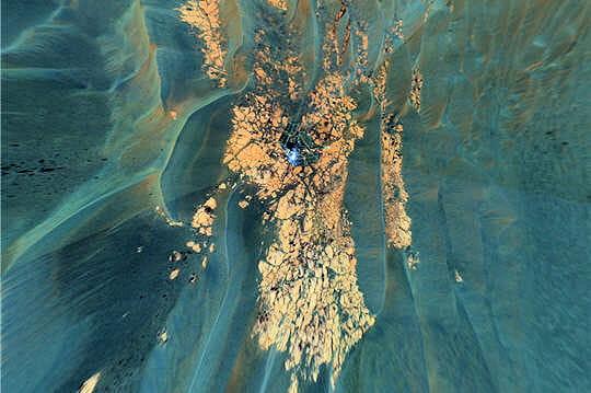 Cratère Erebus en plongée