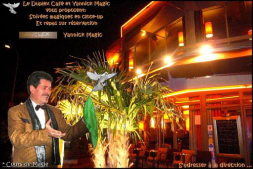 Restaurant : Niagara  - Magicien Yannick Magic en spectacle au Niagara. Site: ( http://magie-illusion.net ). Y.M -   © YannickMagic
