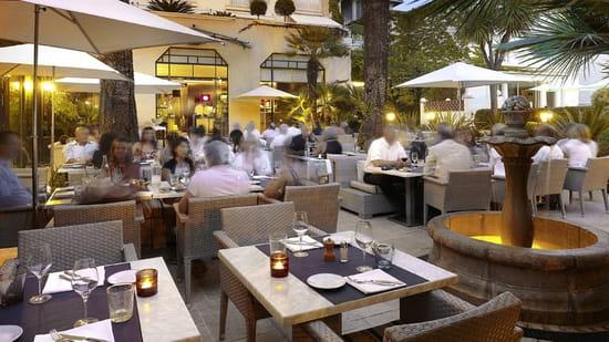 Bistrot Terrasse  - Terrasse nuit -   © Hôtel Juana