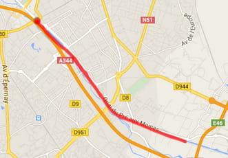 Reims : le canal de la Vesle (8km)