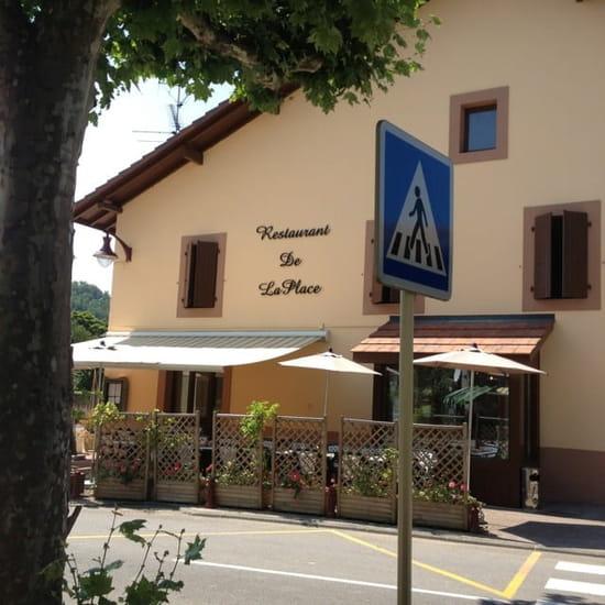 Restaurant : Restaurant de la Place  - Restaurant de la place saint julien de genevois -