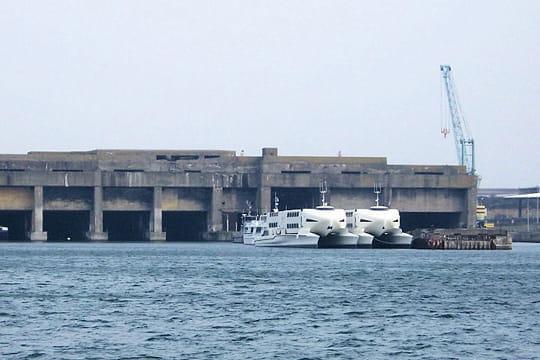 Le port de la Pallice et sa base sous-marine