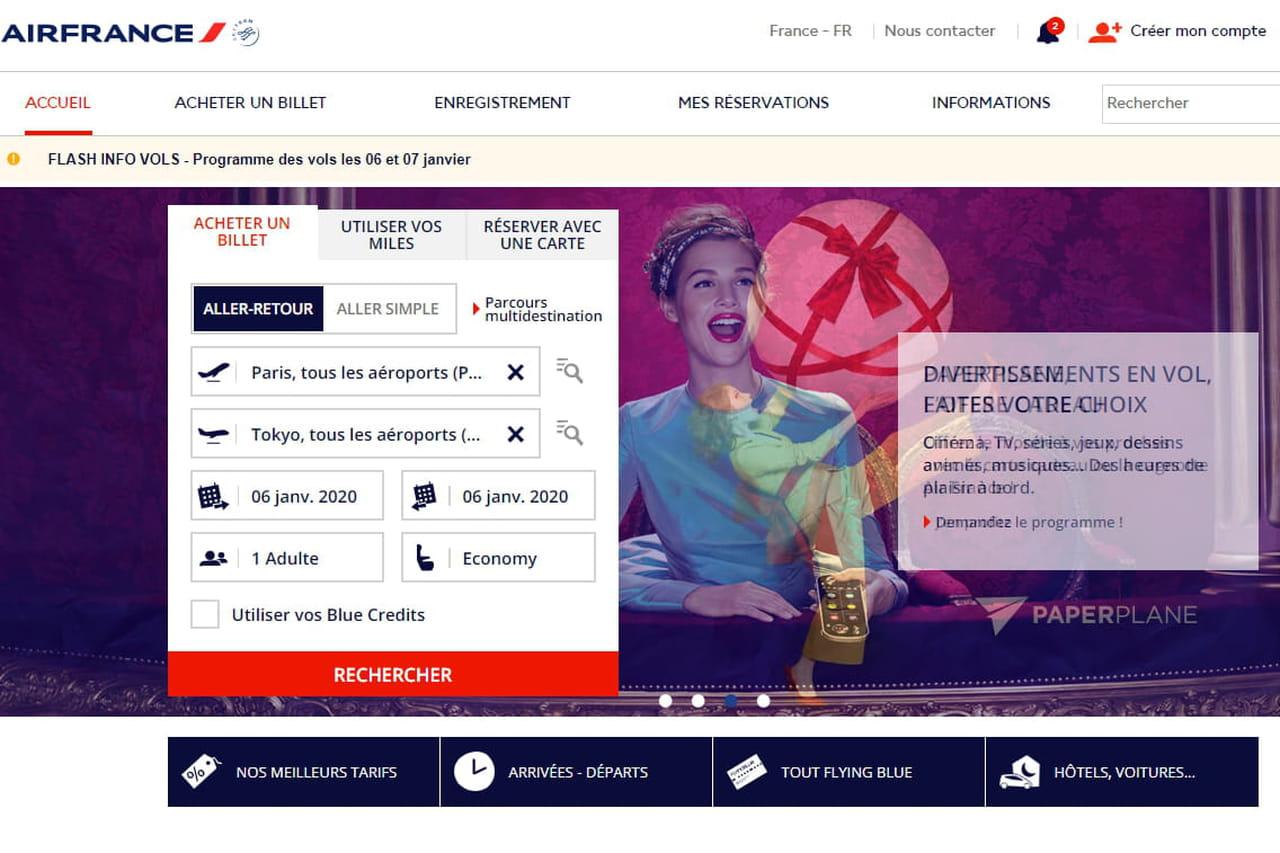 Transport aérien: appel à la grève chez Air France en janvier 2020, infos et perturbations