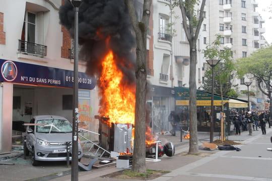 1er mai:commerces dégradés, véhicules incendiés... Le bilan des manifestations