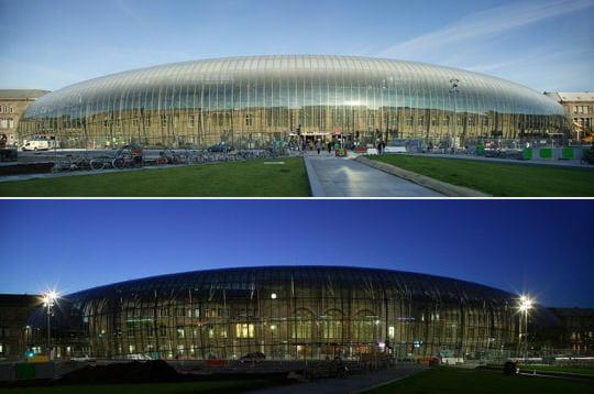 Nouvelle gare de Strasbourg: visite en images