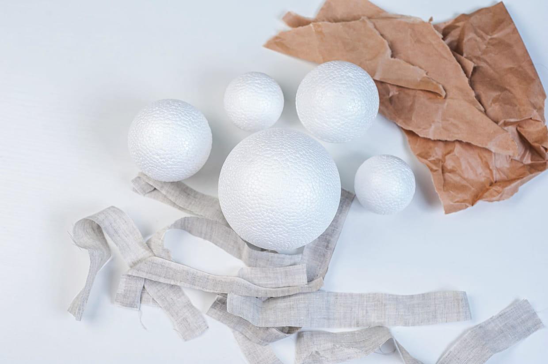 Comment Faire Des Boules En Papier boule de noël : comment en fabriquer soi-même ?