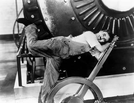 Les Temps modernes de Charlie Chaplin