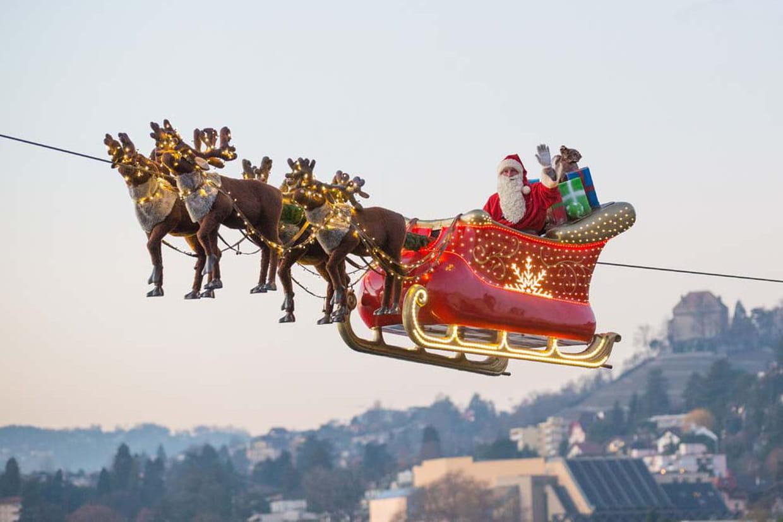 trajet du pere noel Père Noël : comment suivre son trajet en direct sur Internet trajet du pere noel