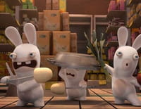 Les lapins crétins : invasion : Aspiro lapin