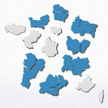 la france compte 13 régions métropolitaines en 2016