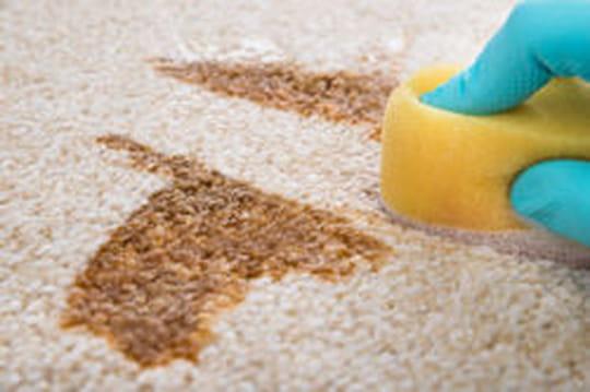 Tache: nettoyer et enlever toutes les taches
