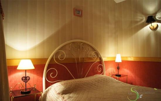 La Sauldraie  - Une chambre de l'hotel La Sauldraie à Salbris -