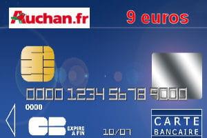 Carte Auchan Visa.4e Auchan Avec Une Carte Bleue Visa Ou Mastercard A 9