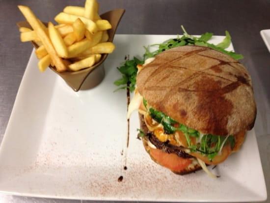 Plat : L'Etna  - L'Etna burger   -