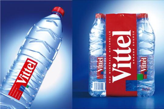 Création packaging d'une bouteille d'eau