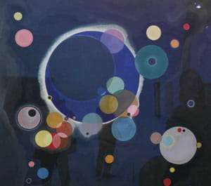 Vassily Kandinsky - Plusieurs Cercles