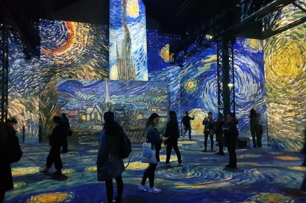 Van Gogh, une nuit étoilée à l'Atelier des Lumières