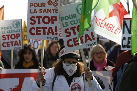 CETA: des députés divisés mais un traité approuvé par l'Assemblée
