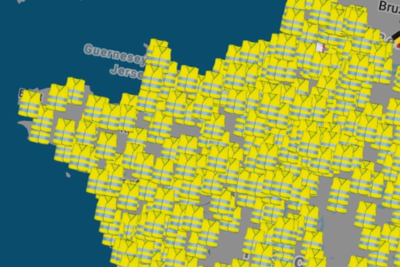 Carte Blocage 17 Novembre Bourgogne.Blocage 17 Novembre Ou Seront Les Blocages Des Gilets Jaunes Carte