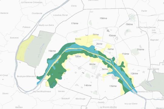 Où en est le niveau de la Seine? La carte des caves et sous-sols inondables à Paris