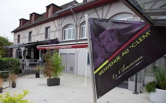 Restaurant le Clemenceau  - Entrée Restaurant -   © Yves PETIT