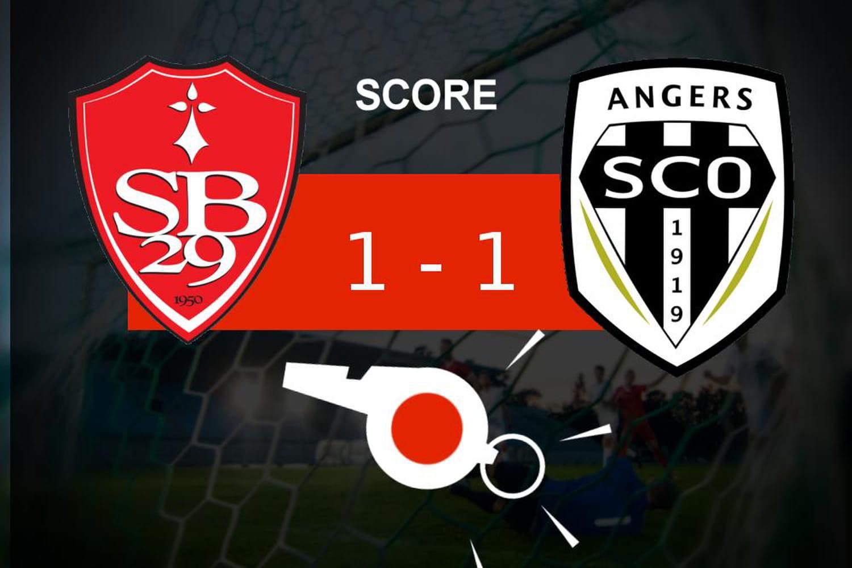 Brest - Angers: le Stade Brestois glane un nul, revivez les temps forts du match