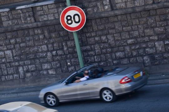 Vitesse limitée à 80km/h: pas de panneaux prêts le 1er juillet?