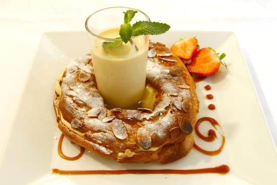 L'Atelier d'Avron  - Praliné aux amandes et glace caramel beurre salé -