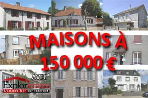 20 maisons 150 000 euros pr tes la vente for Construction maison 160 000 euros