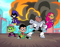 Teen Titans Go ! : Les joies du feu de camp. - Tape m'en cinq