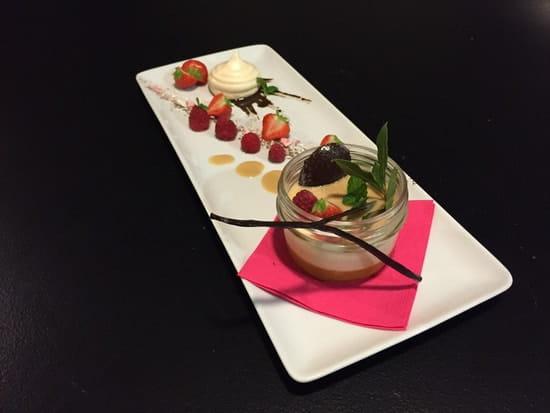 Le Bistronome restaurant Nîmes  - Panna cotta -   © A