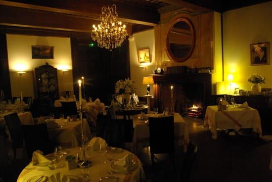 Chez Dies au Château de Barbet  - la salle de restaurant -   © Yoann Wojnarowicz