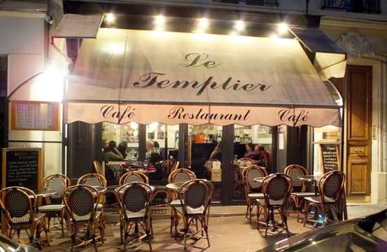 Le Templier de Montmartre  - devanture -   © le templier de montmartre