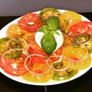 Entrée : Le Petit Lac  - Tomate & Mozza -   © lpl