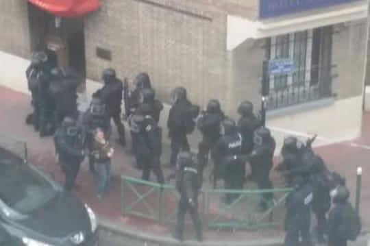 Fusillade à Châtillon: importante intervention àMontrouge, desphotos publiées