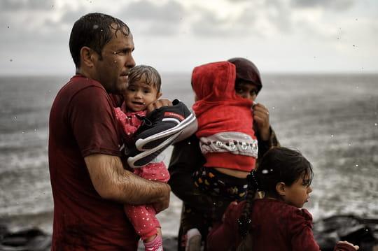 Un Visa d'or pour des photos de migrants en Grèce