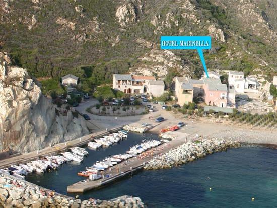 Hôtel Restaurant Marinella  - marine de giottani -