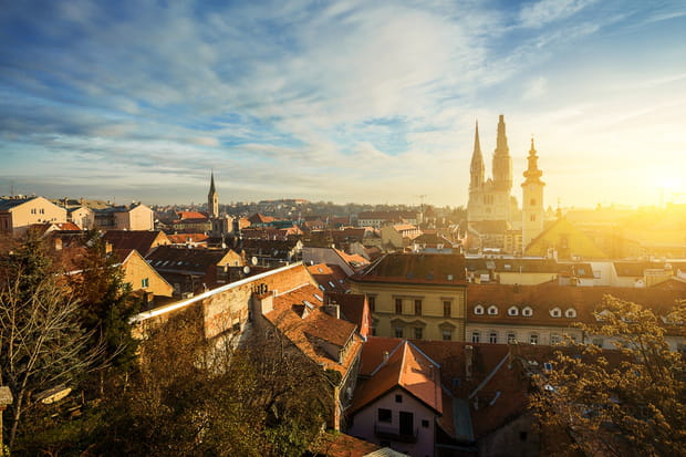 Zagreb, la grande capitale