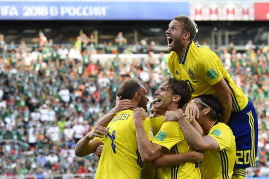 Mexique - Suède: les deux équipes qualifiés, le résumé du match