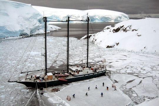 430jours au milieu de l'Antarctique