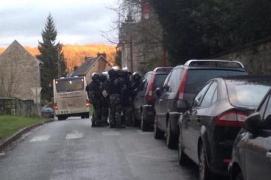 Corcy, Longpont: tous les environs fouillés par les forces de l'ordre